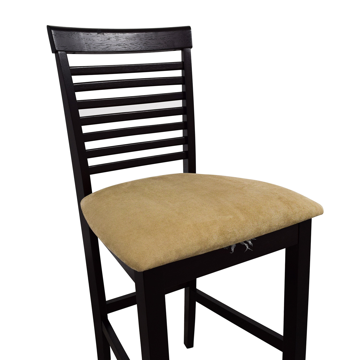 upholstered counter chairs cane for sale 86 off tan bar stool