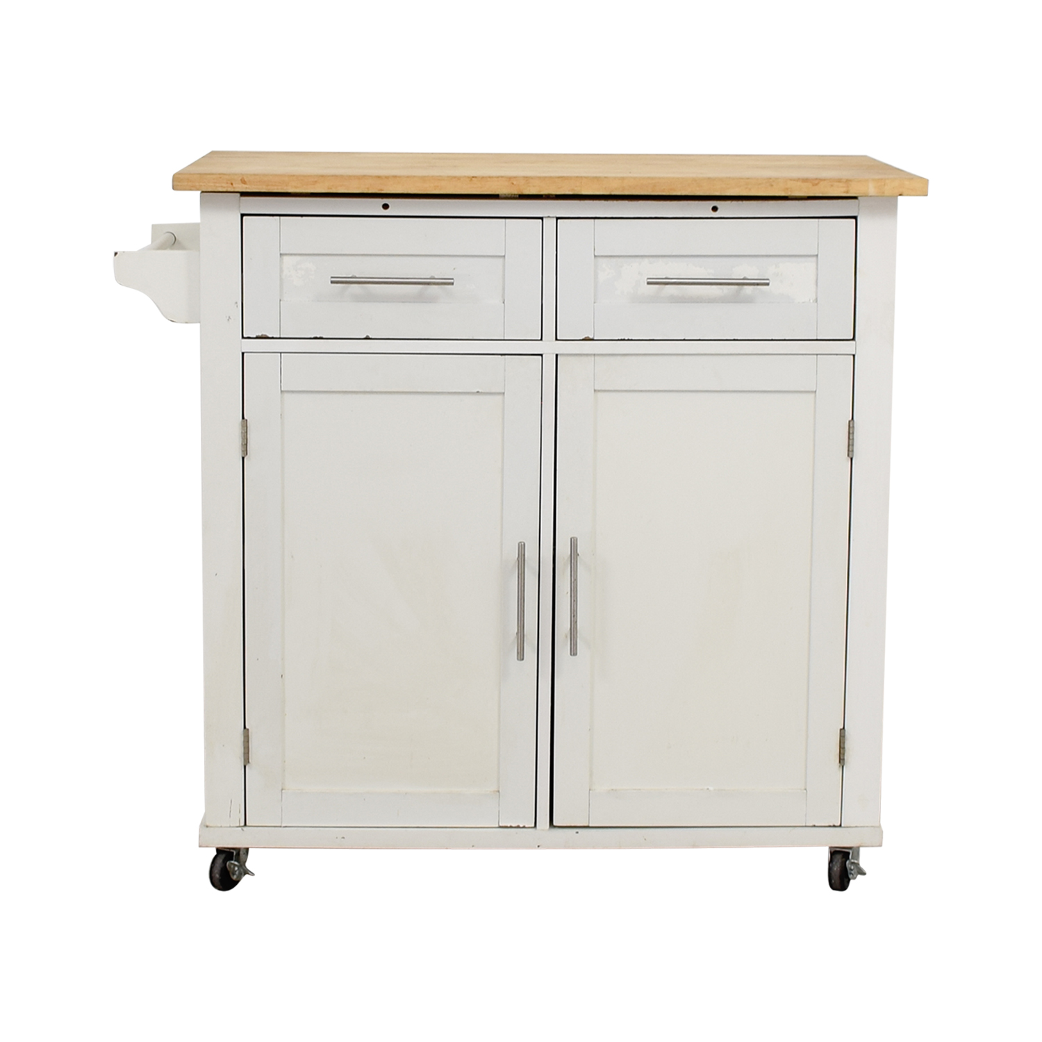 kitchen carts target vent fans 62 off ikea varde butcher block island