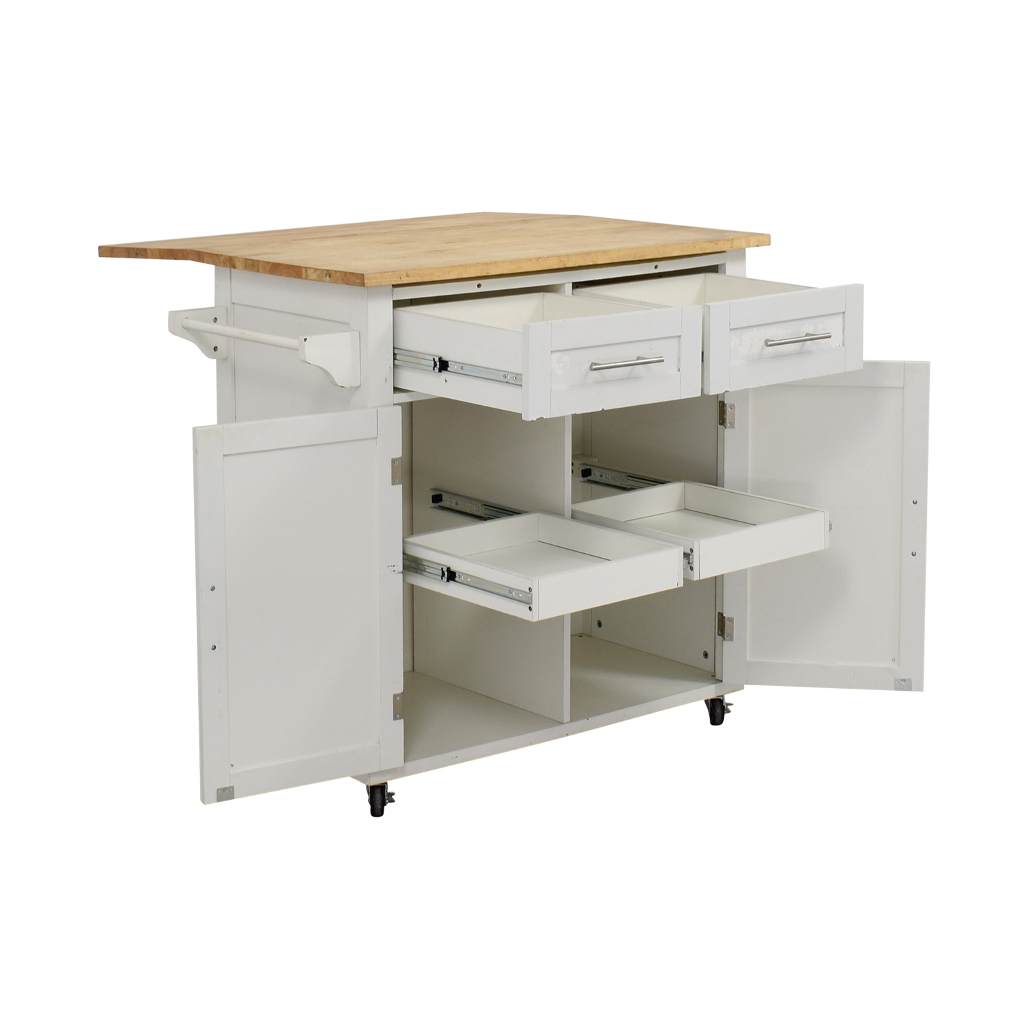 39 OFF  Target Target White Kitchen Island  Tables