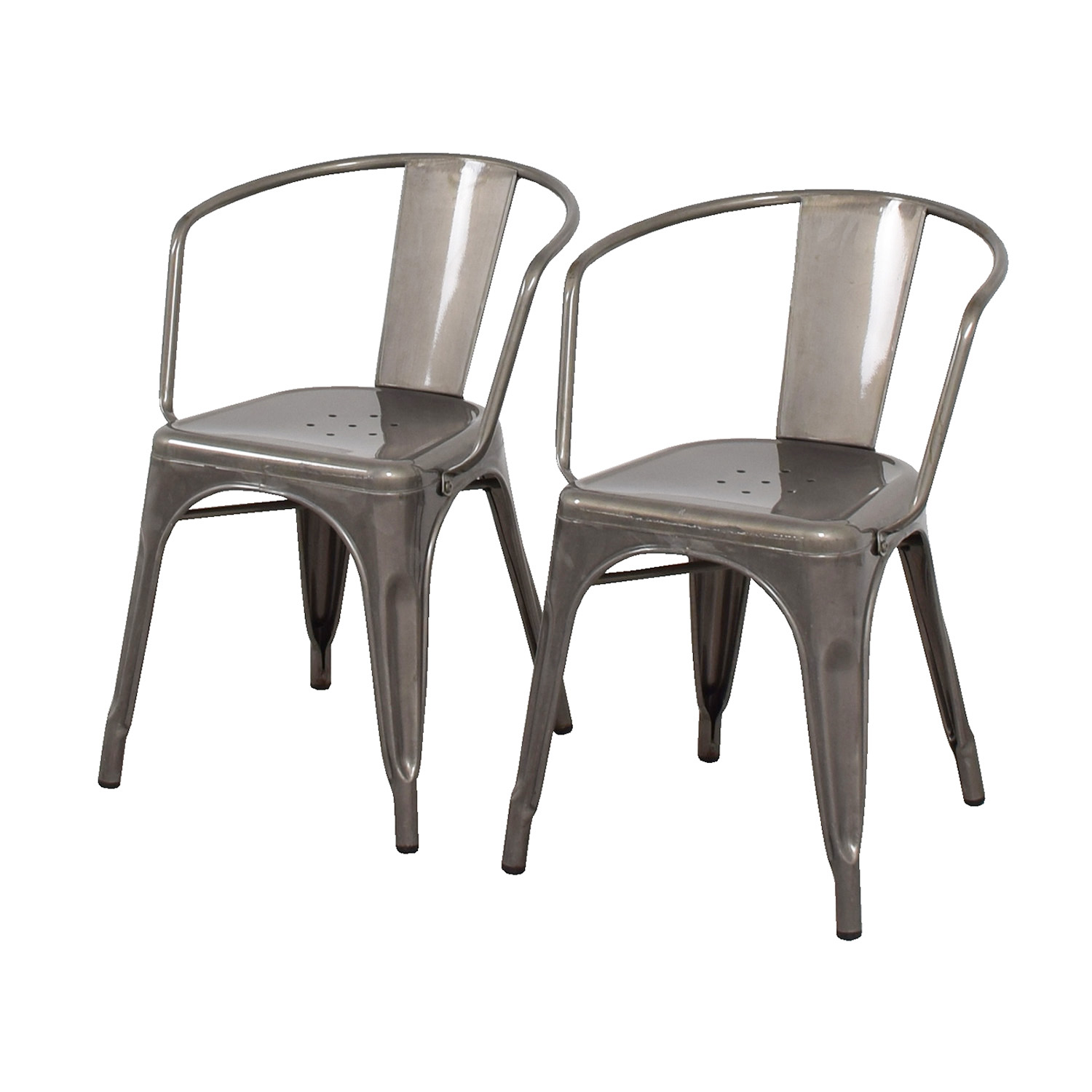 target dining chairs fully reclining office chair 70 off carlisle metal