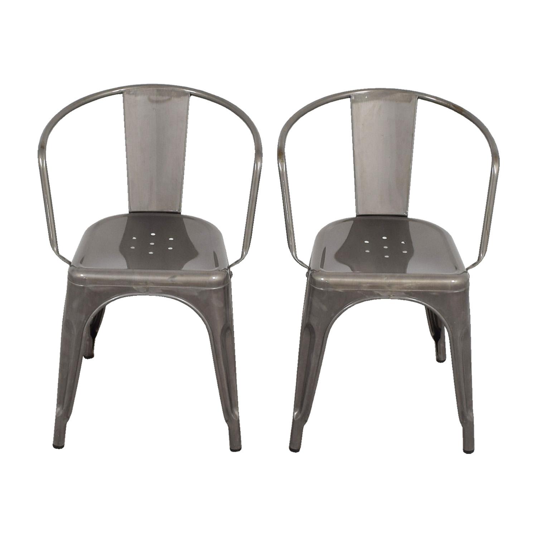 70 OFF  Target Target Carlisle Metal Dining Chair  Chairs