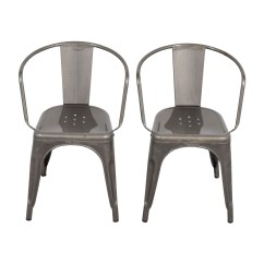 Aluminum Dining Chairs Target Red Chair Nwpa Abv 70 Off Carlisle Metal