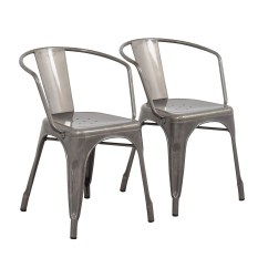 Aluminum Dining Chairs Target Swing Chair Garden Ireland 70 Off Carlisle Metal