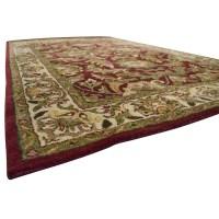 85% OFF - Surya Carpets Surya Carpets Kaleen Wool Red ...