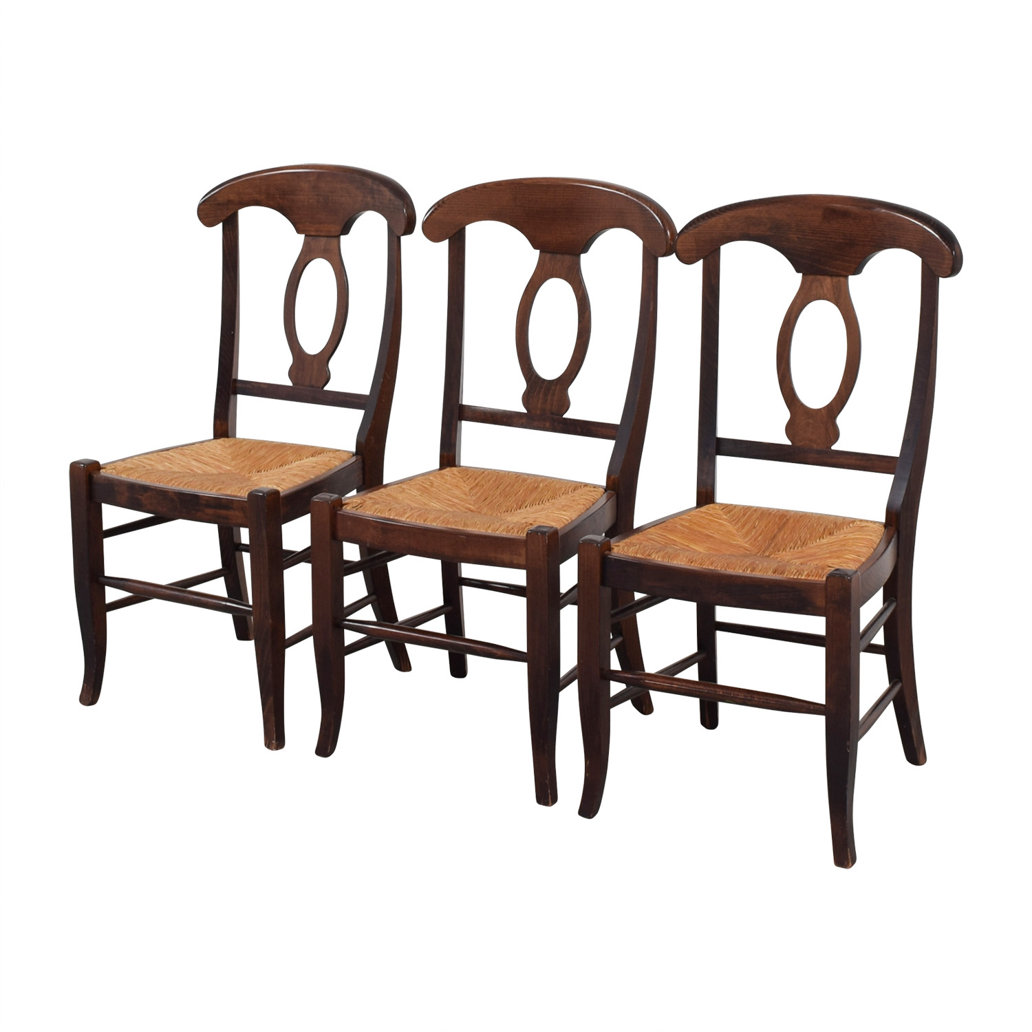 89 OFF  Pottery Barn Pottery Barn Napoleon Chairs  Chairs