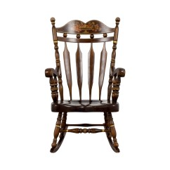 Design Within Reach Rocking Chair Rustic Leather Dining Chairs Accent Used For Sale