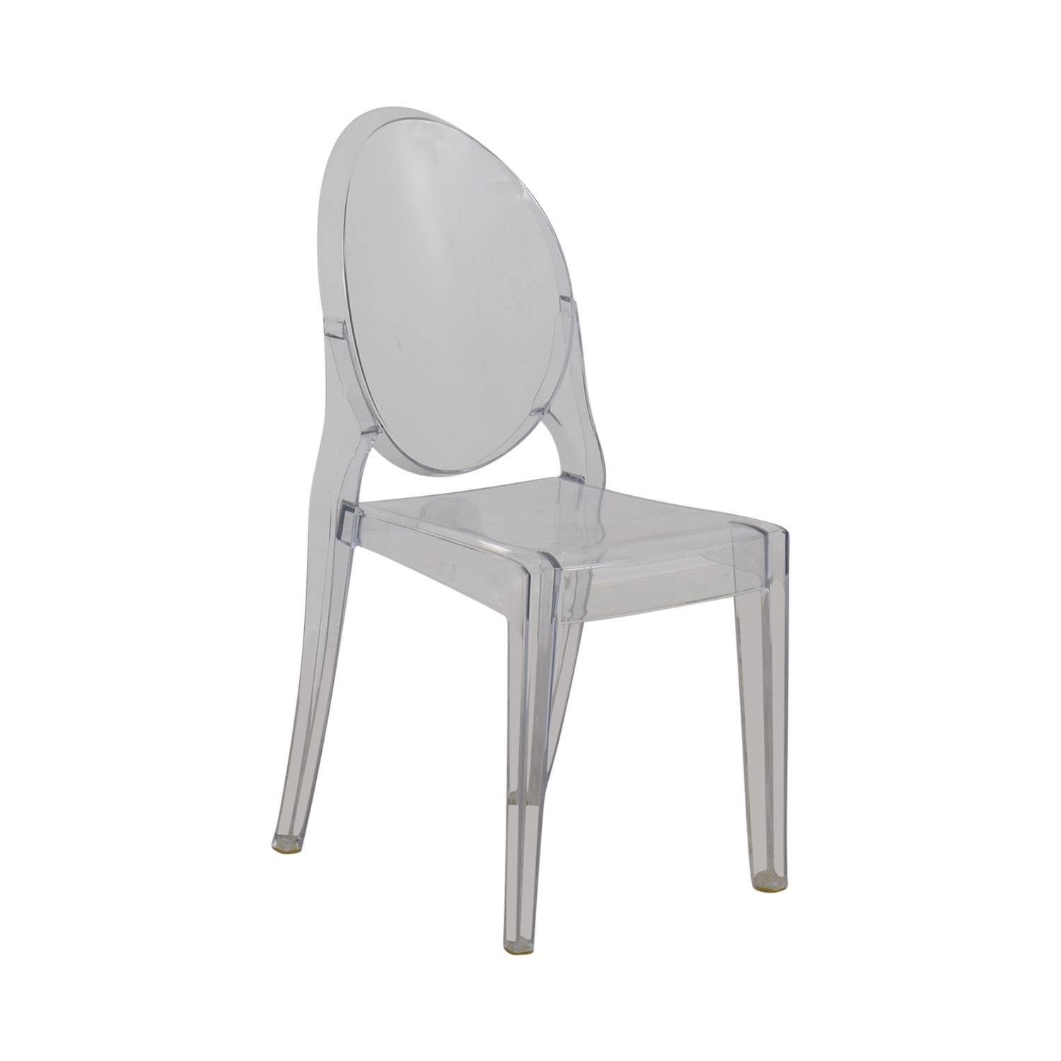 victoria ghost chair safety 1st adaptable high manual 90 off abc home kartell