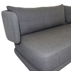 Dwr Sleeper Sofa La Z Boy Bed Mattress 74 Off Design Within Reach Charcoal