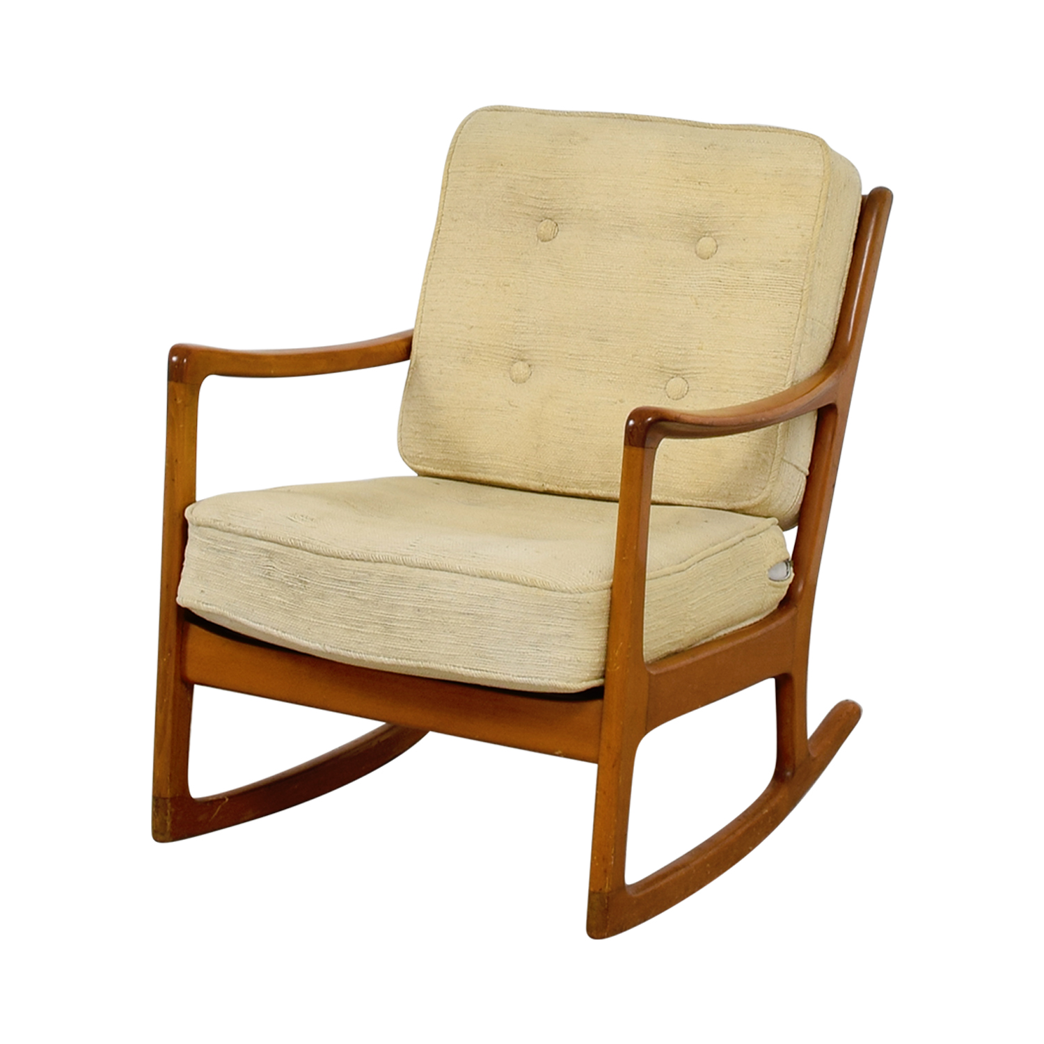 accent rocking chairs chair rentals columbia sc 68 off john stuart inc mid century