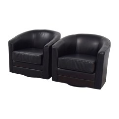 Black Leather Accent Chairs Chair Cover Rental Charleston Sc 85 Off Bob 39s Furniture