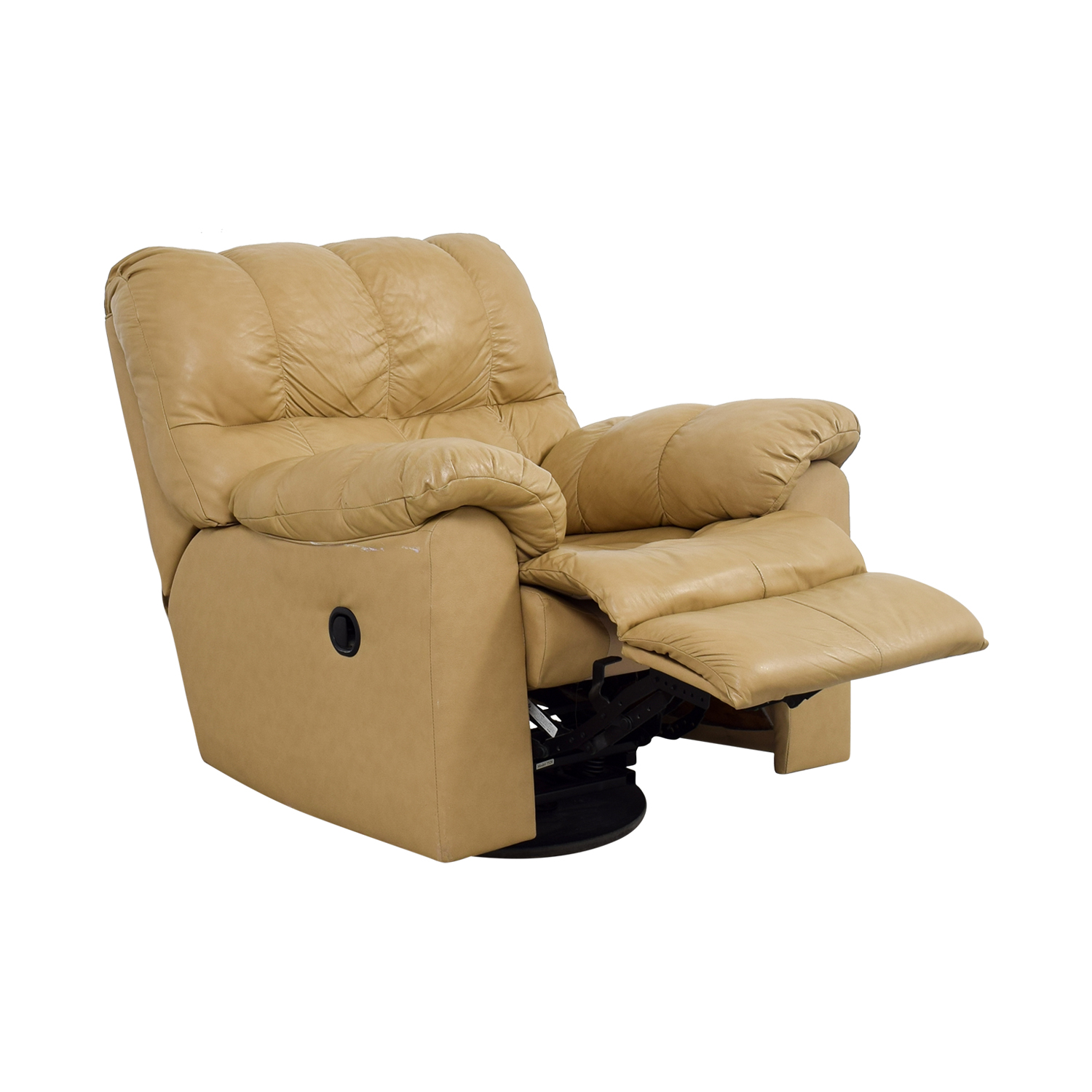 ashley furniture leather sofa recliners one kings lane tables 90 off tan