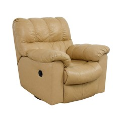 Used Recliner Chairs Tafton Club Chair 90 Off Ashley Furniture Tan Leather