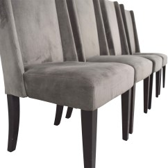 West Elm Chairs Dining Wood Kids Table And 82 Off Velvet