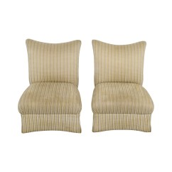 Ethan Allen Recliners Chairs Lay Down Chair 90 Off Striped Accent