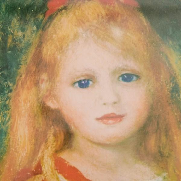 90 - Pierre-auguste Renoir Poetry Of Young Girl