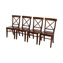 Pottery Barn Chairs Dining Material To Recover Room 84 Off Aaron Wood
