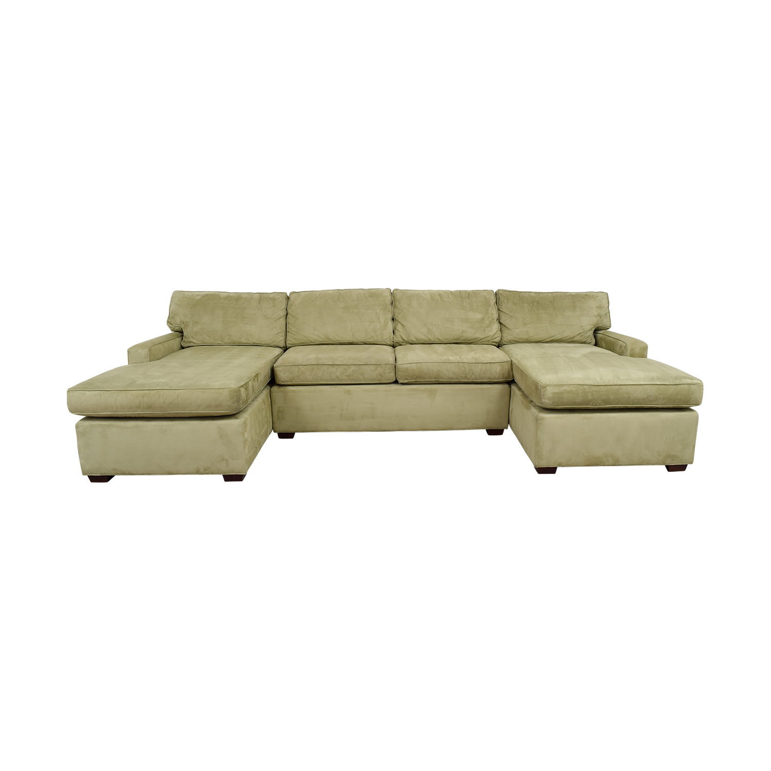 pottery barn chaise sofa sectional j m sectionals used for sale