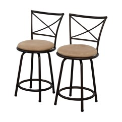 Stool Chair Big W Dining Room Table Sets 6 Chairs 71 Off Lots Tan Cushioned Swivel Barstools