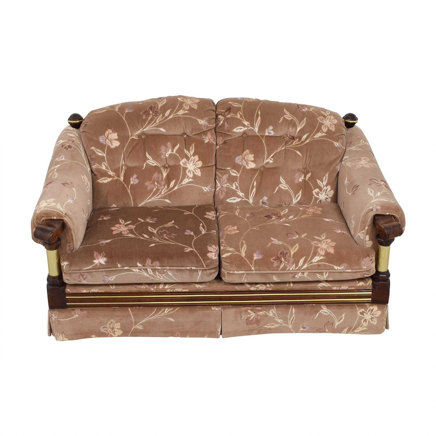 pink tufted sofa for sale linen slipcover sofas used