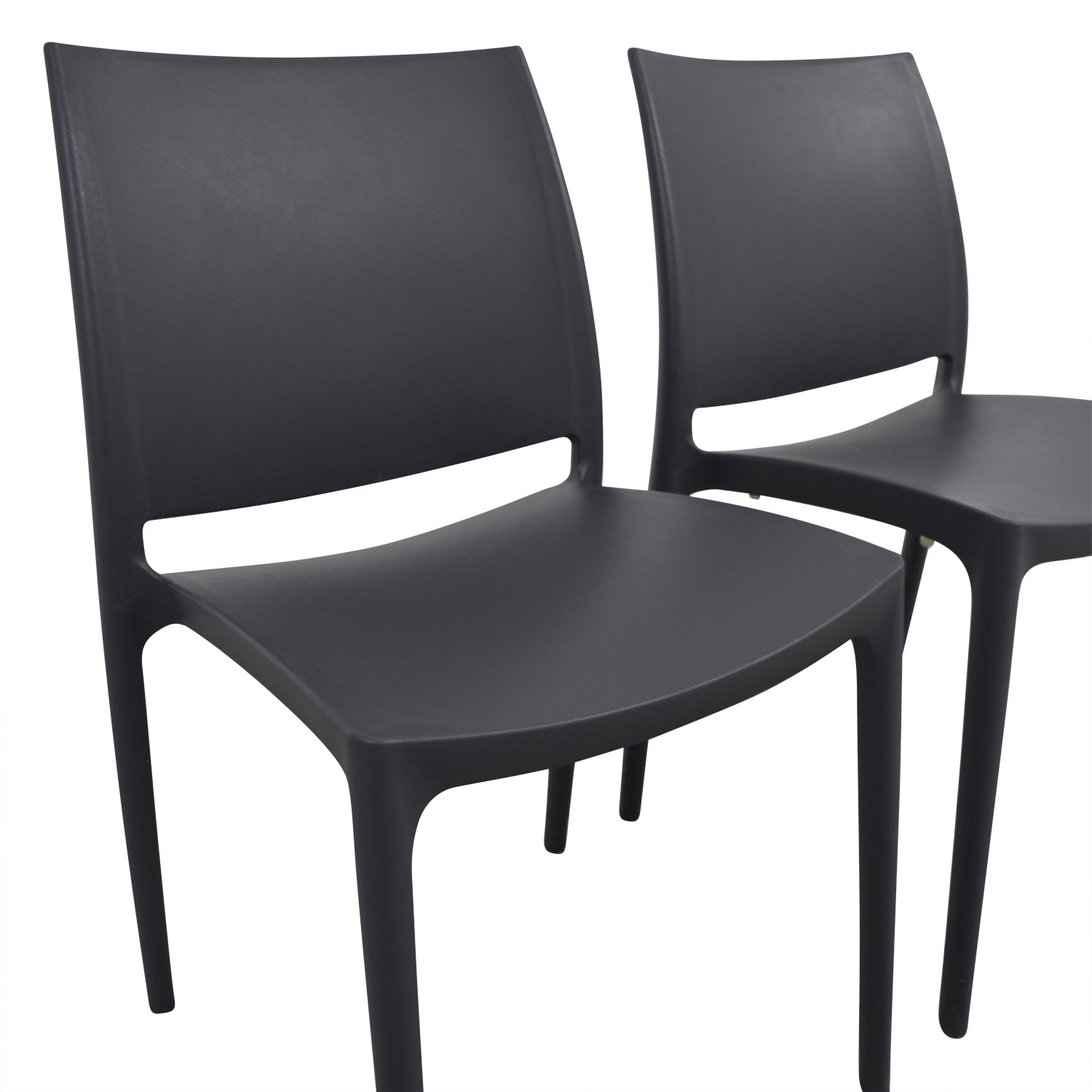 lifetime stacking chairs 2830 black molded seat convertible chair sleeper plastic for sale oscarsfurniture
