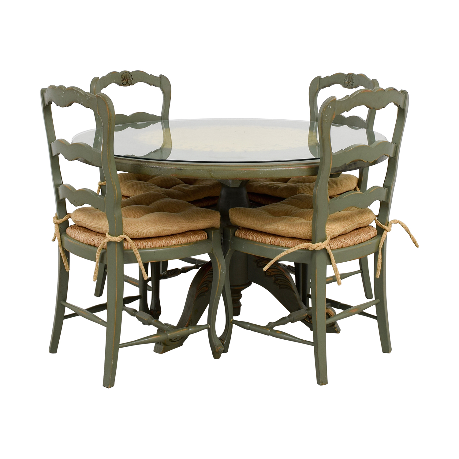 Country Kitchen Chairs 88 Off Hand Painted Country Style Kitchen Table And