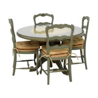 88% OFF - Hand Painted Country Style Kitchen Table and ...