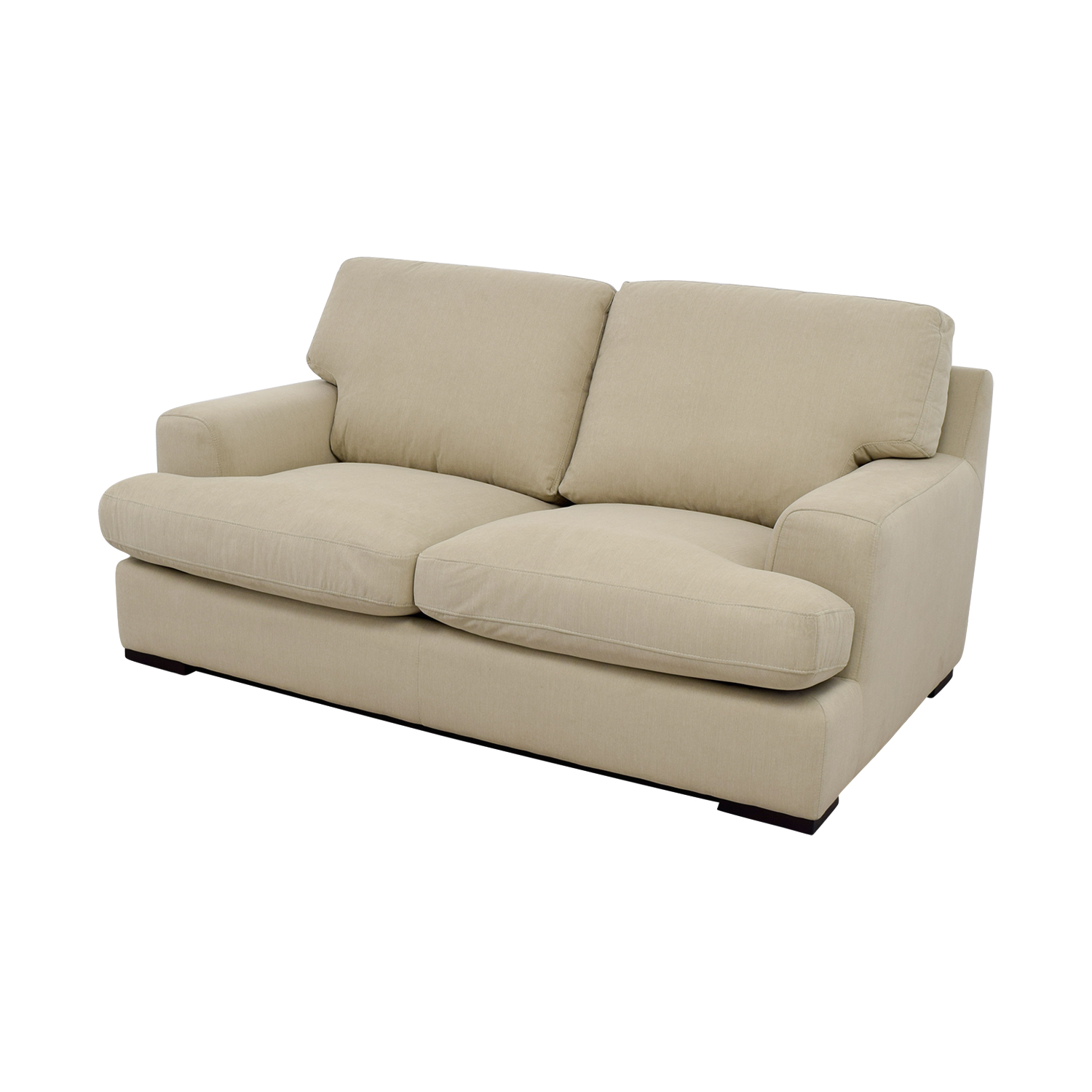 feather filled sofas second hand barrow sofascore 65 off stone and beam lauren down