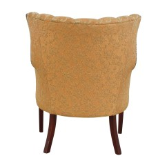 Antique Accent Chairs Linenfold Chair Cover Furniture