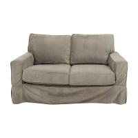 Square Arm Sofa Pb Comfort Square Arm Slipcovered Sofa ...