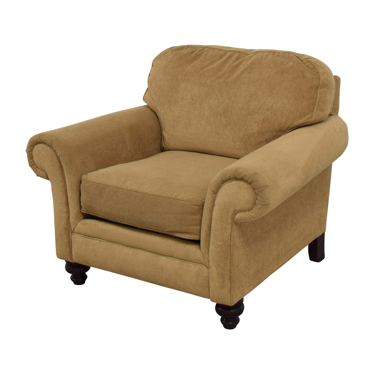 Mustard Accent Chair 86 Off Broyhill Broyhill Mustard Yellow Accent Chair