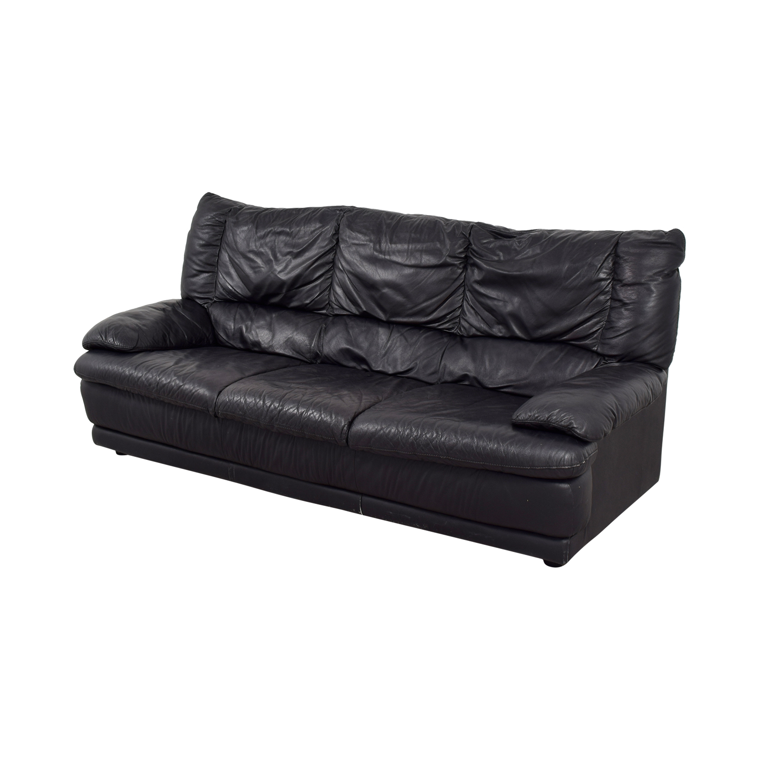 leather sofas ikea sofa z materacem sprezynowym black 44 off skogaby