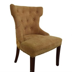 Pier 1 Accent Chairs Country French Upholstered 90 Off Beige Chair