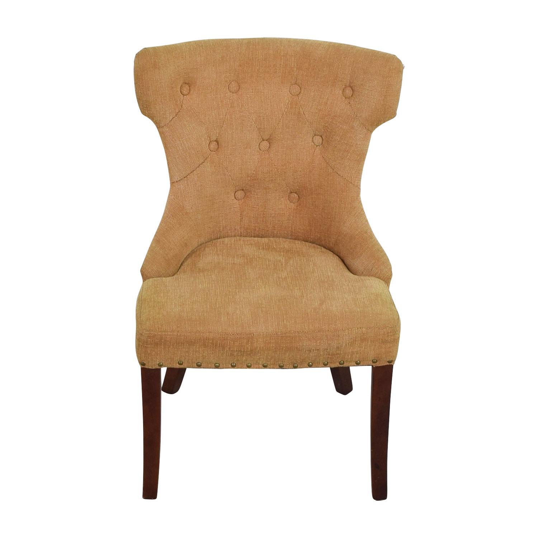 pier 1 accent chairs wheelchair width 90 off beige chair