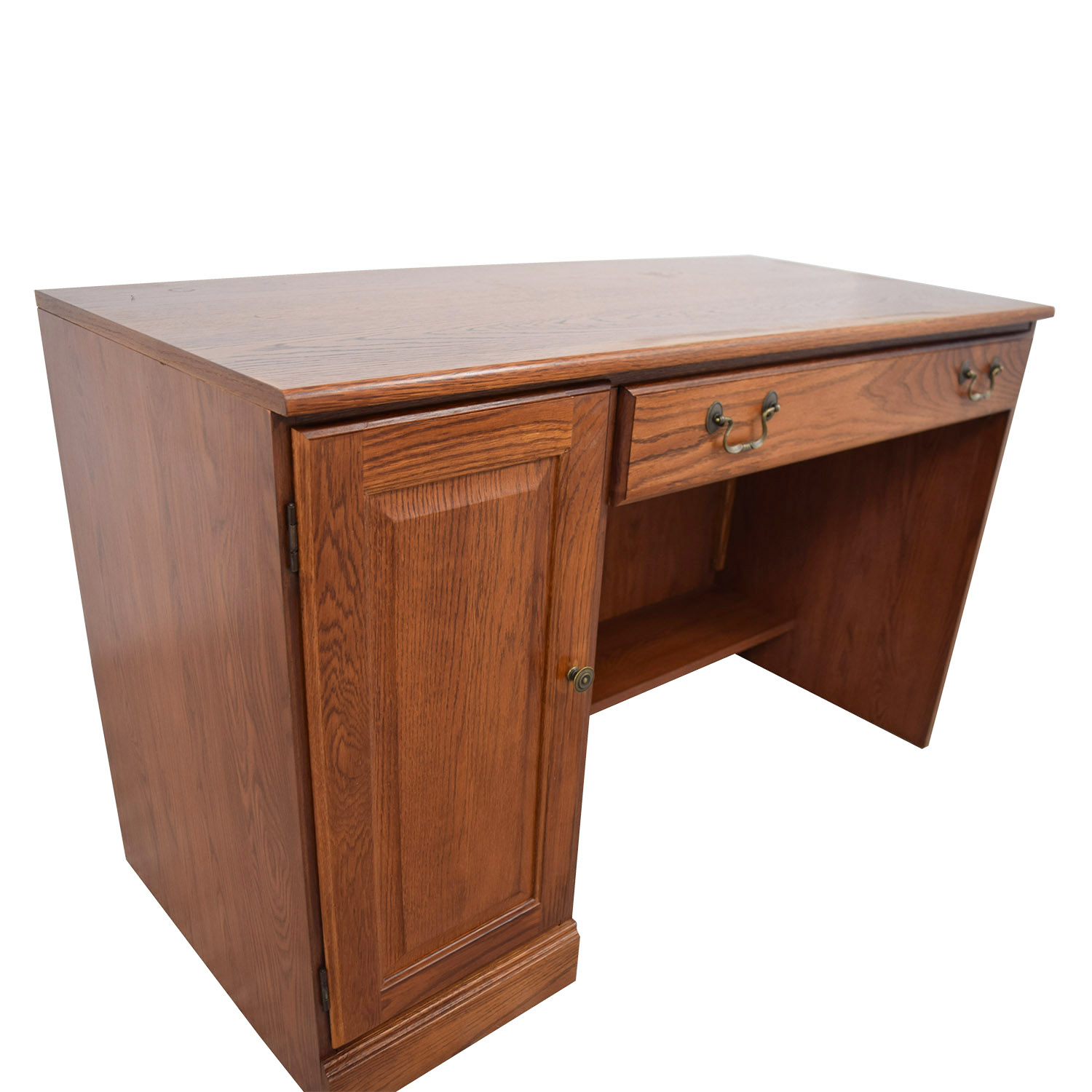 88 OFF  Staples Staples Wood Computer Desk  Tables