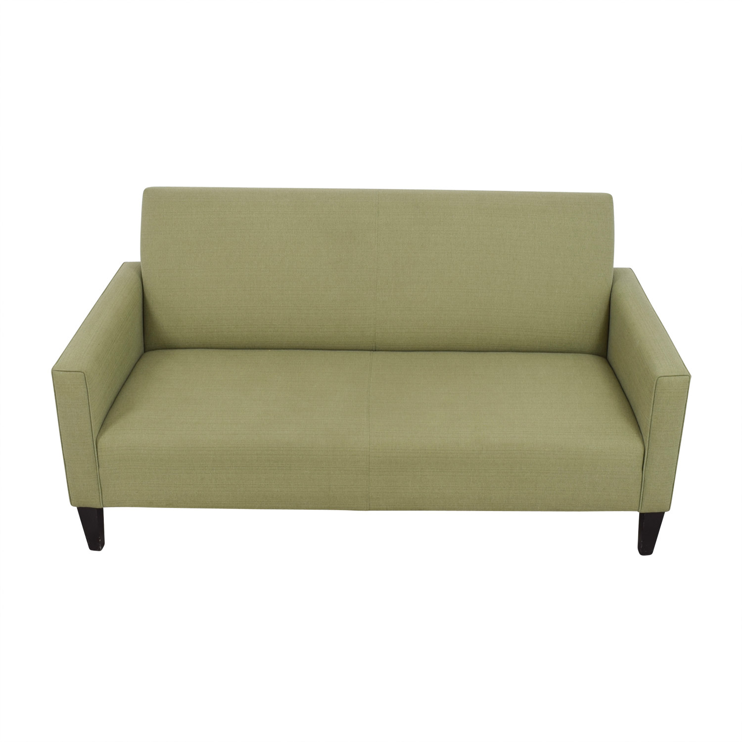 crate and barrel sofa cushion replacement bed cheap 80 off moss green single