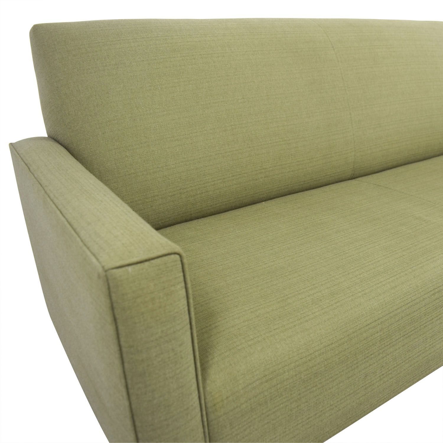 crate and barrel chair cushions ergonomic wiki 80 off moss green single