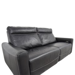Macys Leather Sofa Sale Violino Uk 80 Off Macy 39s Black Reclining Sofas