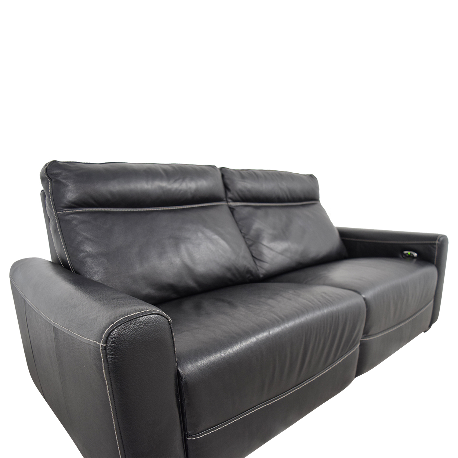 Macys Leather Chair 80 Off Macy 39s Macy 39s Black Leather Reclining Sofa Sofas