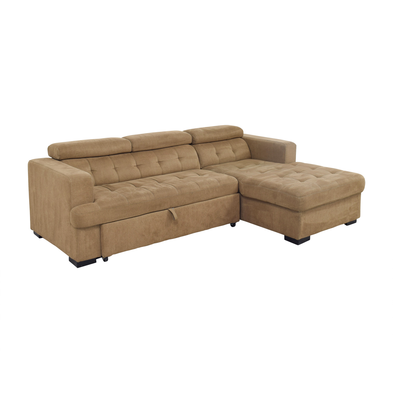 40 OFF  Bobs Furniture Bobs Furniture Brown Pull Out