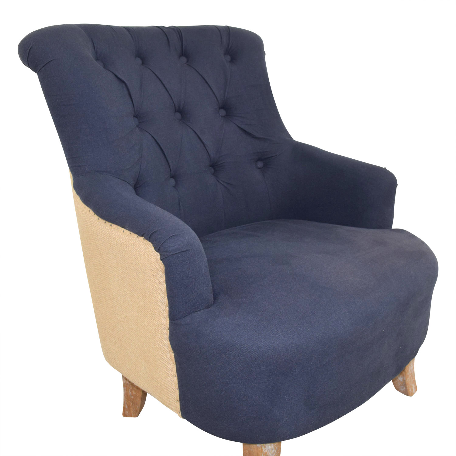 pier one blue accent chairs soft toddler chair 61 off 1 imports and tan