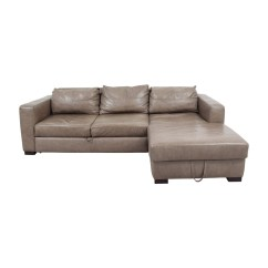 Arhaus Leather Sofa Restoration Hardware Maxwell Buy Quality Used Furniture
