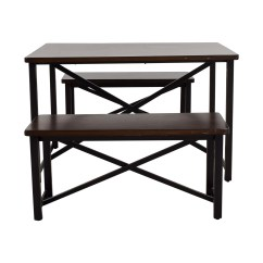 Ashley Furniture Kitchen Tables Butcher Block Dining Sets Used For Sale