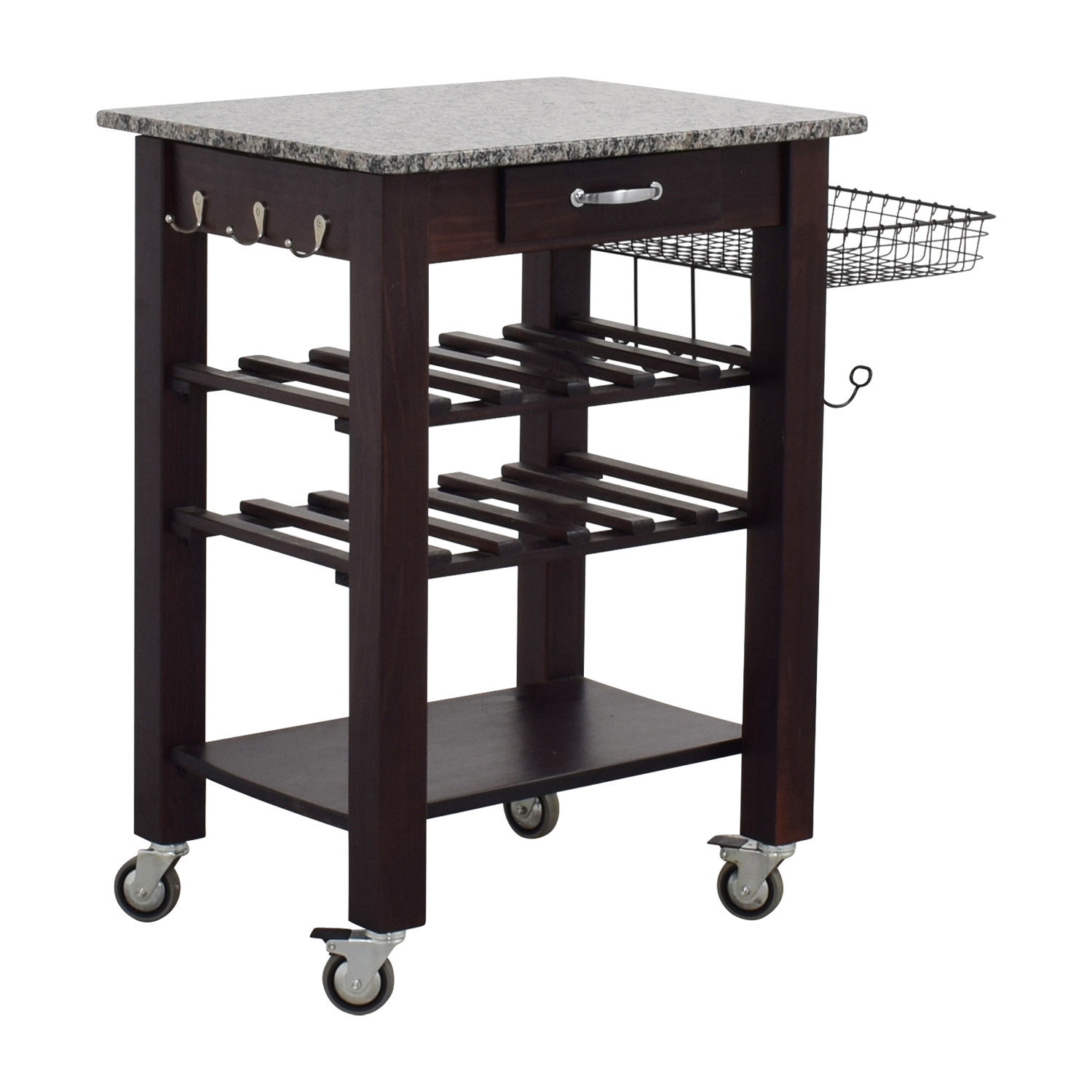 marble top kitchen cart hood filters 82 off home goods and wood base