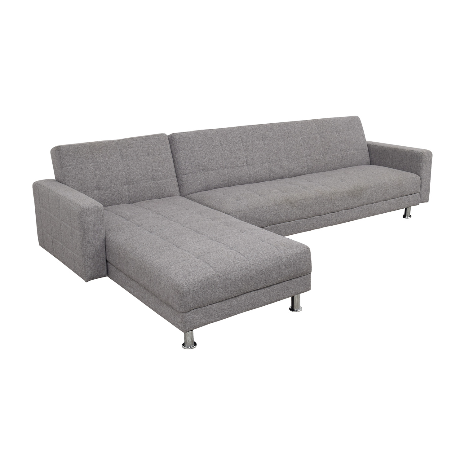 grey large l shaped sofa leather loveseat and recliner set 47 off sectional sofas