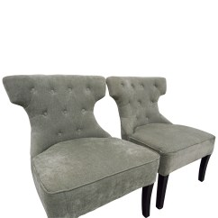 Teal Tufted Chair Wedding Chairs For Bride And Groom 79 Off All Modern Ritz Accent