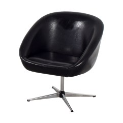 Revolving Chair Second Hand Massage Pads For Chairs 75 Off By Design Modern Black Shop