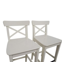 Ikea Bar Chair Coffee Table Chairs 63 Off White Stools
