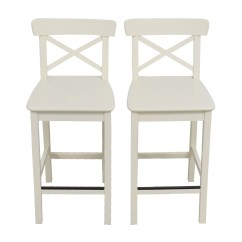 Ikea Bar Chair Graco Glider 63 Off White Stools Chairs