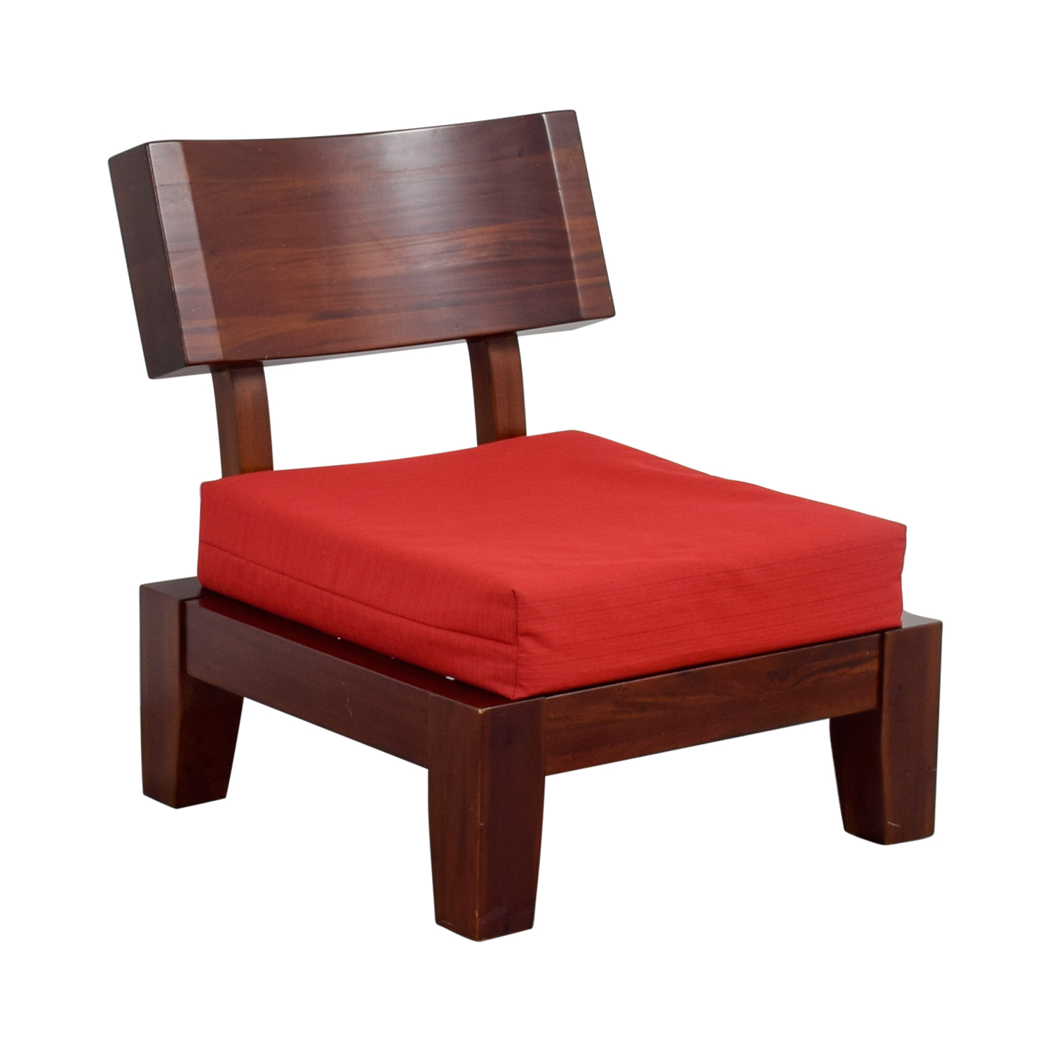 Sleeping Chair 74 Off Haverty Haverty Red Wood Sleeper Chair Chairs