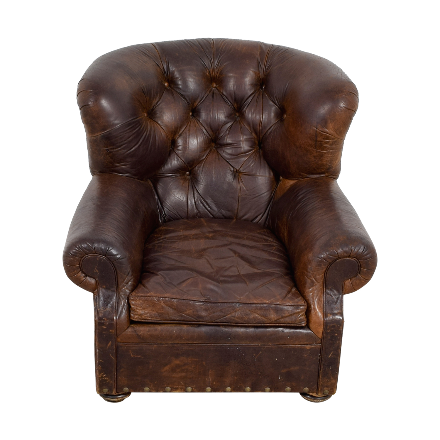 Restoration Hardware Leather Chairs 74 Off Restoration Hardware Restoration Hardware Brown